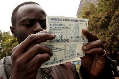 dolar zimbabue